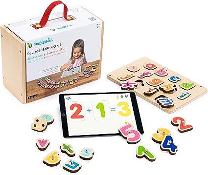Marbotic Deluxe Learning Kit Jeu Interactif Pour Ipad De 3 A 5 Ans Lettres Alphabet
