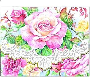 Carol Wilson Fine Arts Inc. Roses in Bloom Portfolio Notecards NCP2505