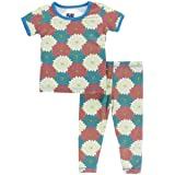 Kickee Pants Print Short Sleeve Pajama Set with