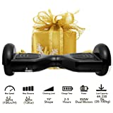 """Coocheer Electric Hoverboard UL2272 Certified Two-wheel Self Balancing Scooter Smart Hover boards with LED Lights and 6.5"""" Wheels(Best Gifts for Kids/Spring Outdoor Choices)"""