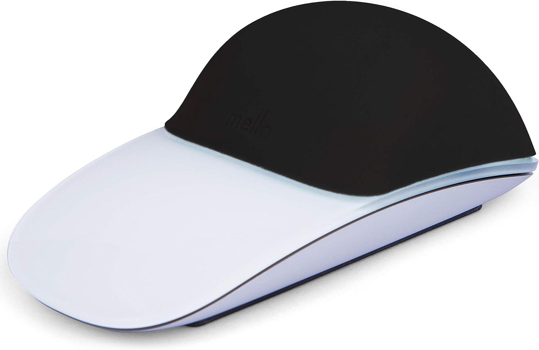 Mello Silicone Cushion Compatible with Apple Magic Mouse 1 & 2 (Tuxedo Black)