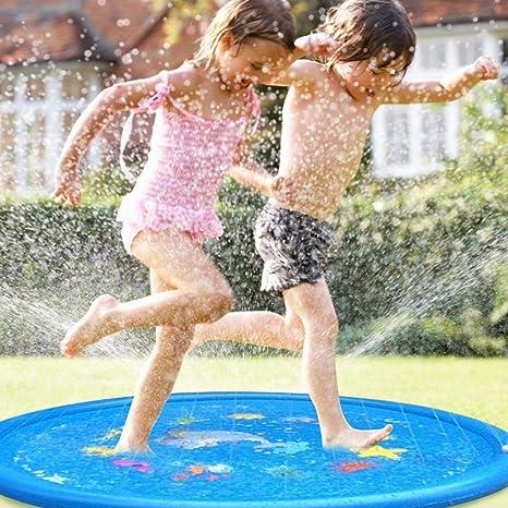 Baby Water Play Mat - Almohadilla De Aspersión Colchoneta De ...