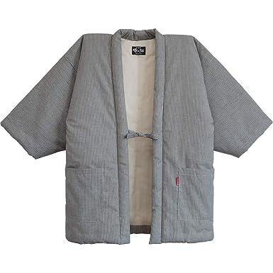 Amazon.com: Hickory Stripe hanten Casual fabricado en Japón ...