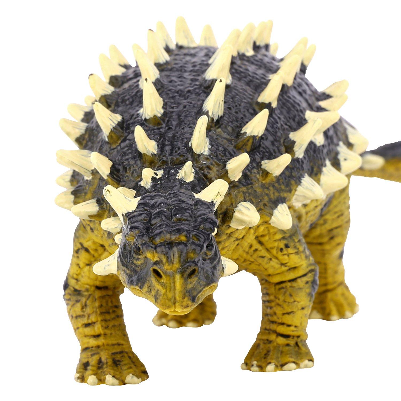 Dark Brown Zooawa Brachiosaurus Dinosaur Figure Toy