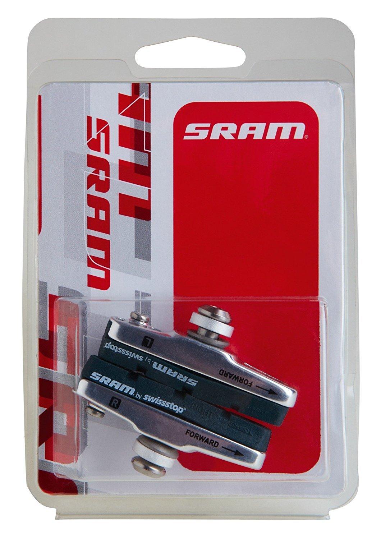 SRAM Rb Red Pad/Holder Assy Pair Black [並行輸入品] B0784H5ZTS