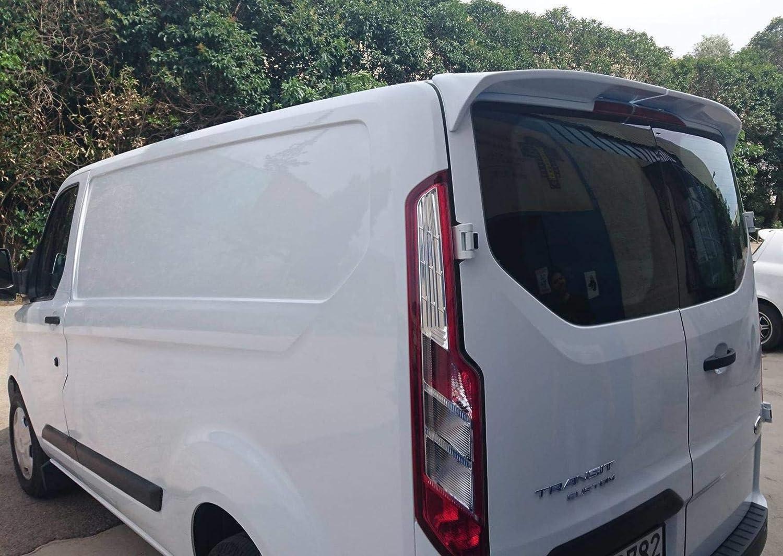 Transit Custom 2012 ON Rear Roof Spoiler to Suit Twin Doors (BARN DOORS) STX