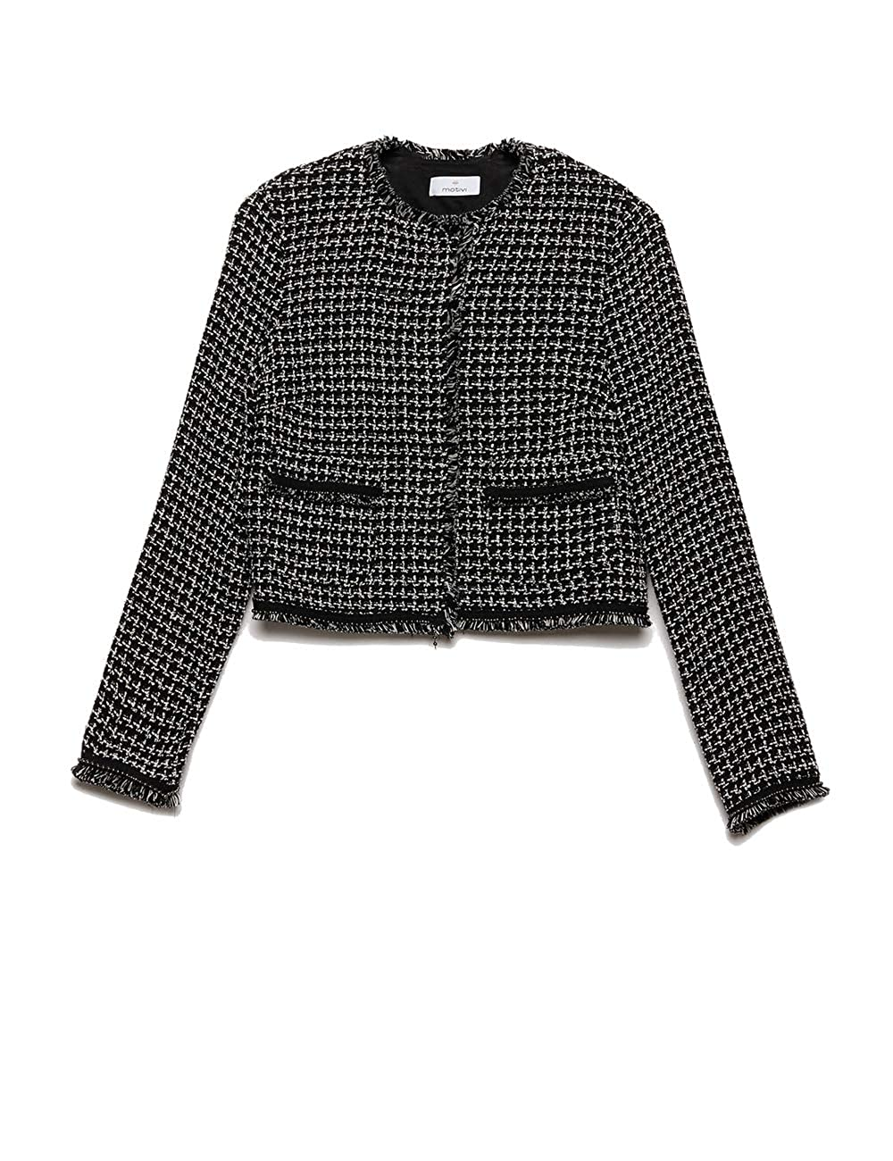 Motivi : Giacca Corta in Tweed (Italian Size)