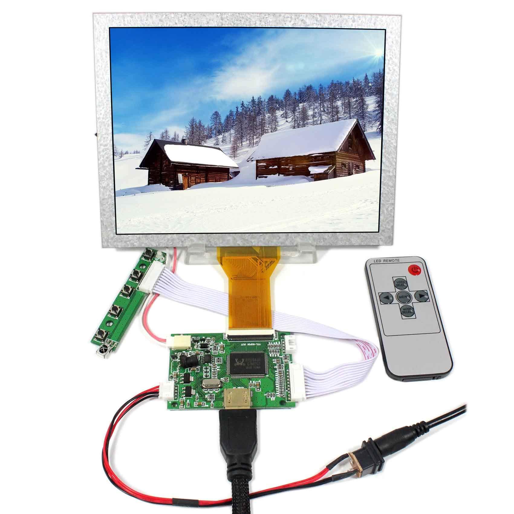 Controladora LCD HDMI VGA 8 800x600 EJ080NA-05A