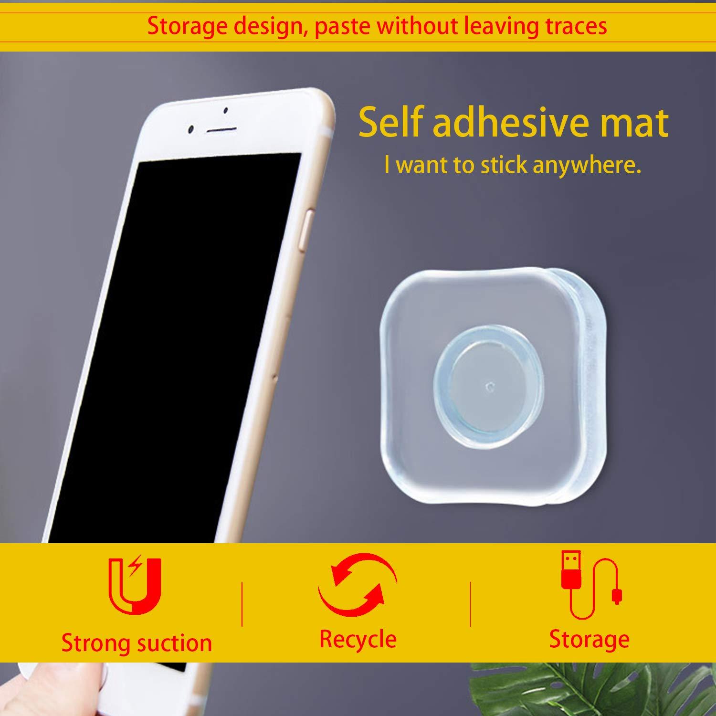 Blizim 2 Piezas Almohadillas Adhesivas de Gel de Silicona Antideslizantes