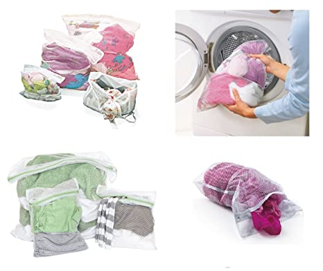 4 redes de ropa/bolsas de lavado/bolsa de ropa - Protección ...