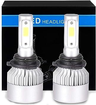 Pair 9006 HB4 360W LED Headlight Conversion Bulb Light Lamp Kit Xenon White