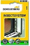 Schellenberg 50764 VARIO - Fijación de ventana para mosquiteras (10-35 mm)
