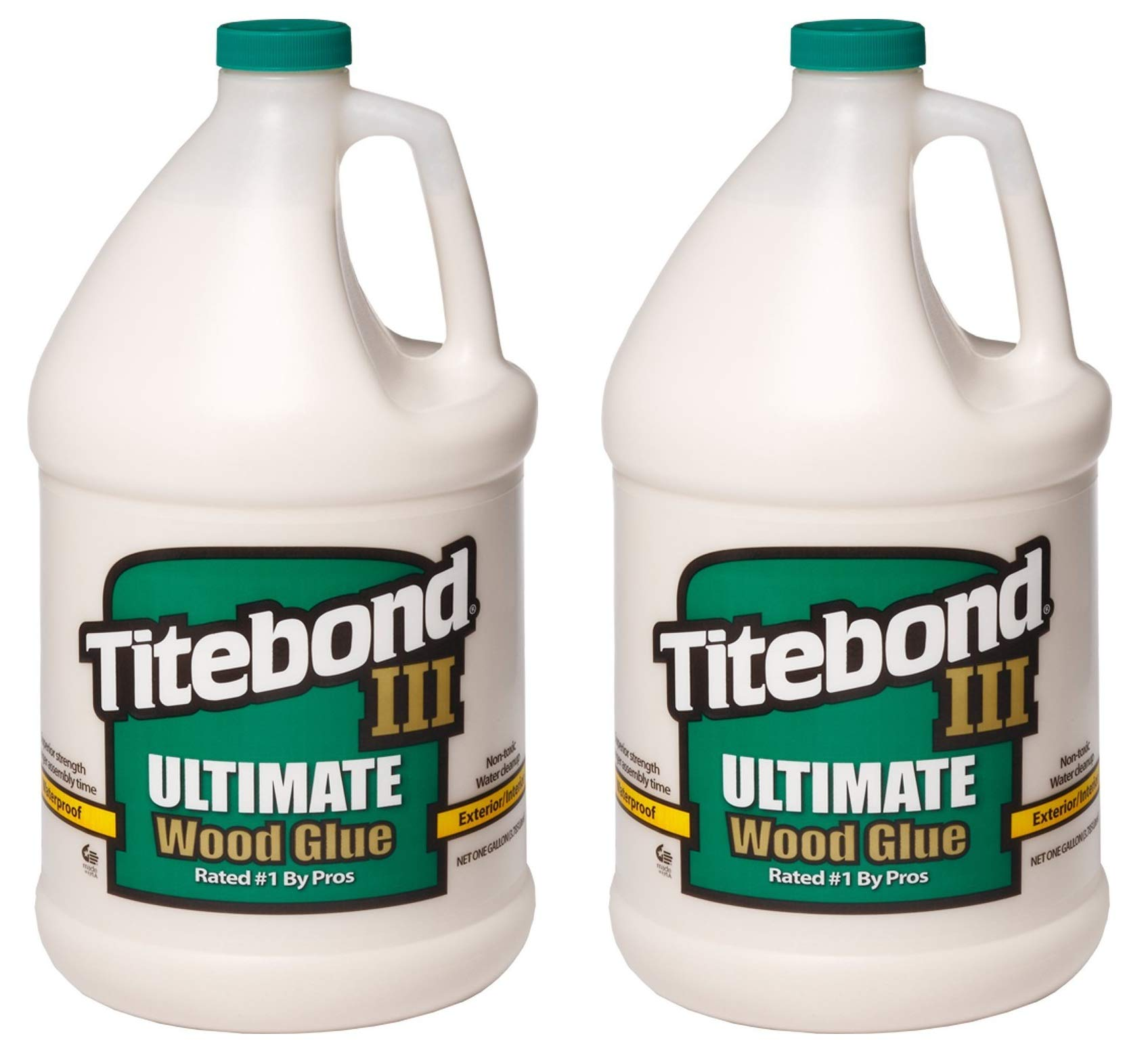 Titebond 1416 III Ultimate Wood Glue, 1-Gallon (Тwо Расk)