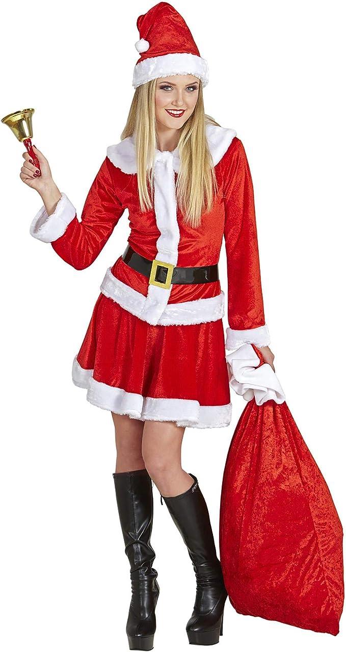 Disfraz de Santa Claus Lady para adultos: Amazon.es: Ropa y ...