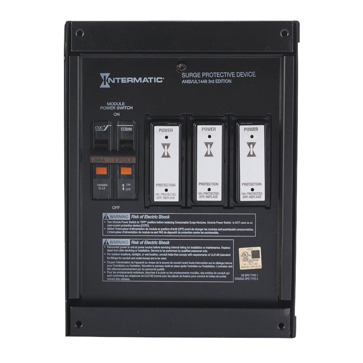IntermaticSmart GuardIG2240-IMSKWhole Home SurgeProtector by Intermatic (Image #1)