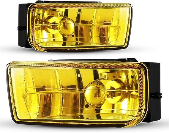 For BMW 3 Series E36 Yellow 4-LED Xenon Bright Side Light Beam Bulbs Pair
