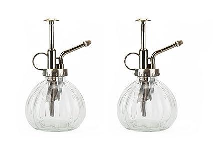 Amazon.com: fasmov Rociador Botella de vidrio de estilo ...