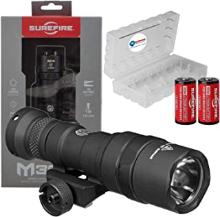 product image for SureFire M300 Mini Scout Ultra Compact LED WeaponLight 500 Lumens w/ 2x Extra Surefire CR123A Batteries and Battery Case