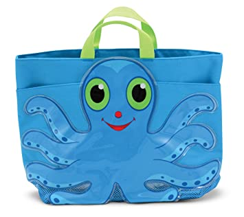 Amazon.com: Melissa & Doug Sunny Patch Flex Octopus Large Beach ...