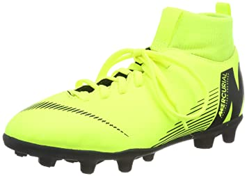 0538ca54fb9 Amazon.com  Nike Junior Mercurial Superfly 6 Club FG MG Cleats (Volt ...