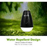 OxyLED® P03 Lampada Lanterna LED da Campeggio Portatile con Telecomando, 5 Modi Luminosi, USB Ricaricabile, Batteria 1800mAh Incorporata, Luce Bianco