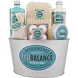Gloss! Ecobalance Regalo de Baño de Metal, Color Azul - 1 pack