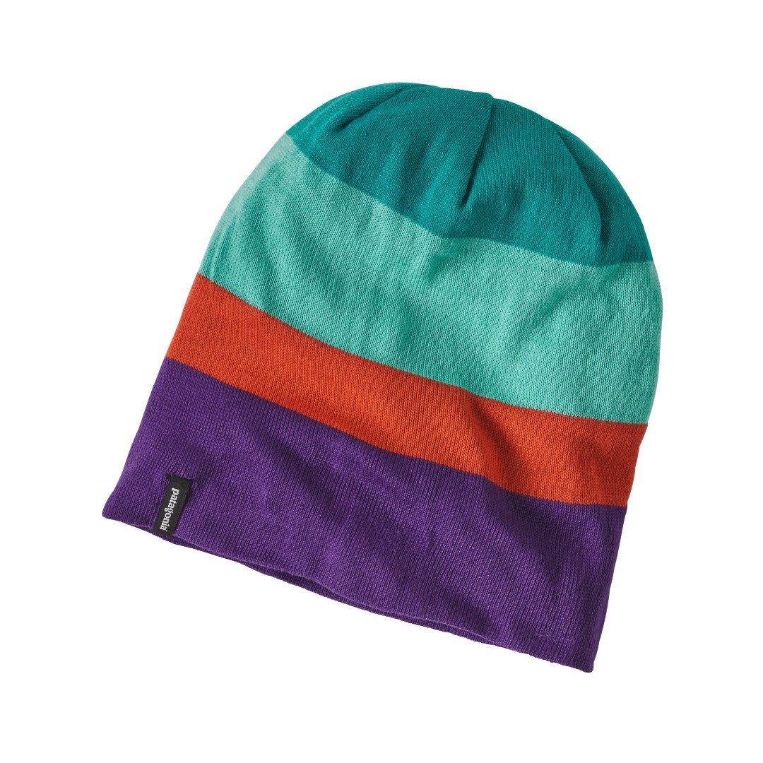 f0411e84873 Patagonia 28971hukeall - Slopestyle Beanie Colour  Huck Stripe  Elwha Blue  Size  All  Amazon.co.uk  DIY   Tools