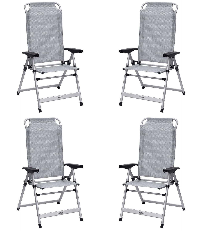 Vango Windsor hoch Stuhl aus Aluminium Aluminium X 4