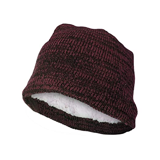 5d503581e613a Polar Extreme Men s Warm Beanie Knit Hat for Winter (Red) at Amazon ...