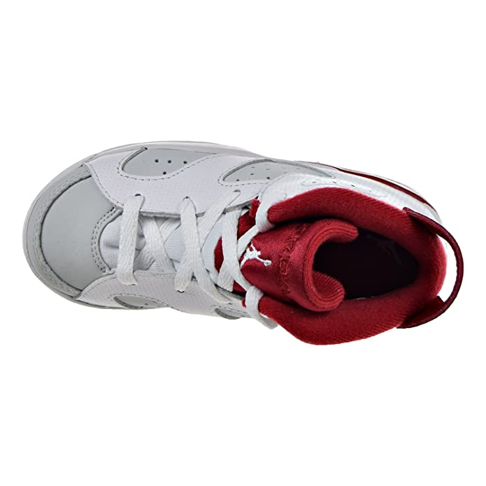 half off a0dc5 a8671 Amazon.com   Jordan 6 Retro BT Infants Toddlers Shoes White Gym Red Platinum  White 384667-113   Sneakers