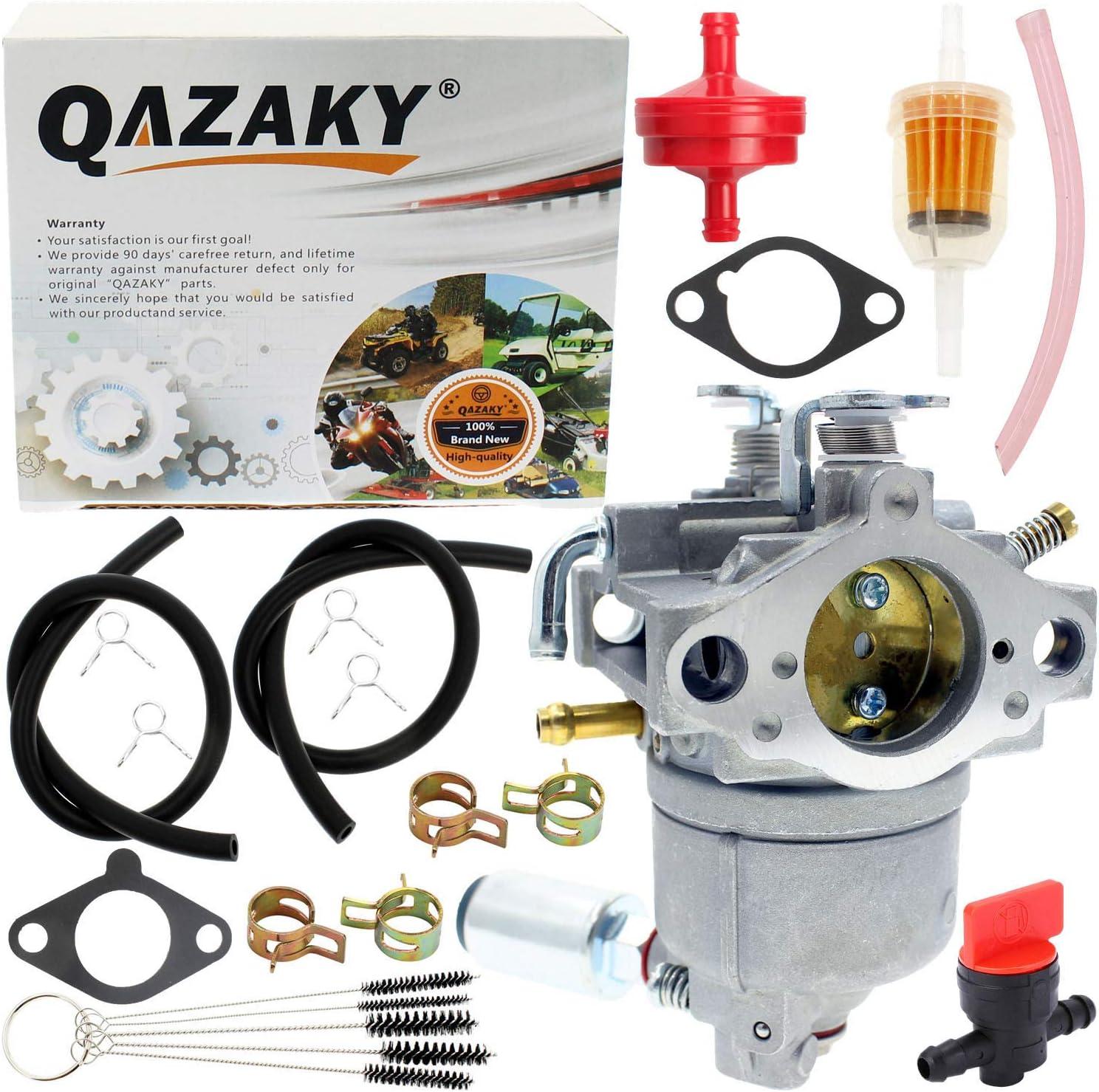 QAZAKY Carburetor Compatible with AM109205 Lawn Garden Tractor 170 175 240 245 260 265 285 320 32124 F510 F525 GT242 GT262 GT275 LX170 LX172 LX175 LX178 LX186 LX188 LX240 Kawasaki 15003-2398 FC401V