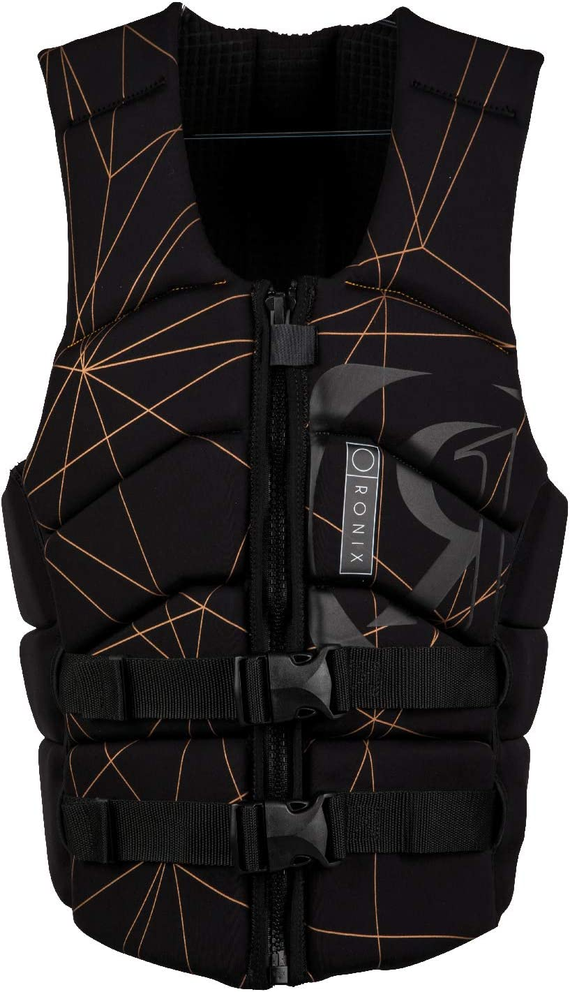 2019 Black//Copper Impact Jacket Ronix Kinetik Armor Foam M