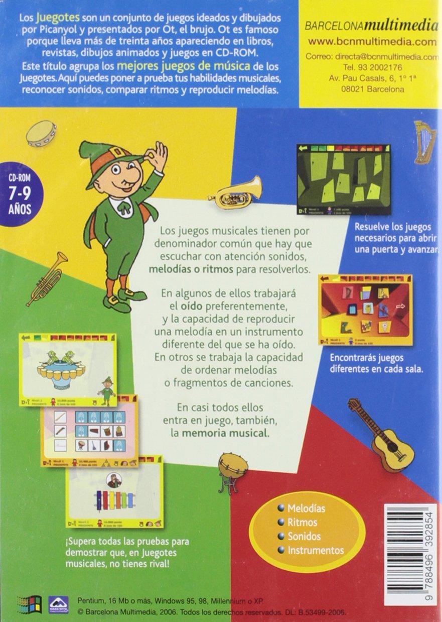 100 Mejores Juegos Musicales Cd Rom 9788496392854 Amazon Com Books