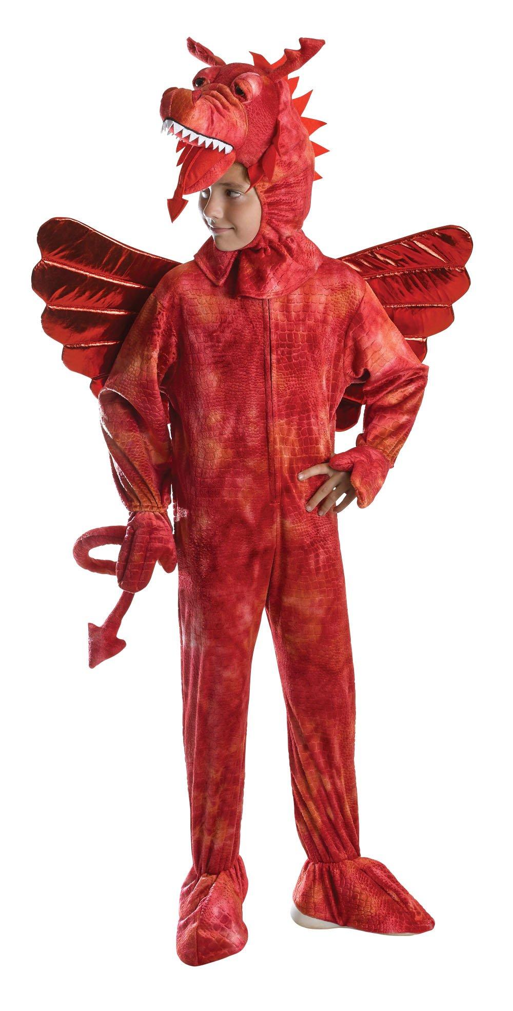 Bristol Novelty CC572 Dragon Costume Red Medium 128 cm Approx Age 5  sc 1 st  Amazon UK & Dragon Costumes: Amazon.co.uk