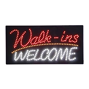 LED Nails Spa Pedicure Welcome Open Light Sign Super ...