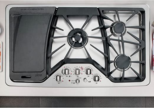 "Amazon.com: GE Cafe cgp650setss 36"" Built-in Gas ..."