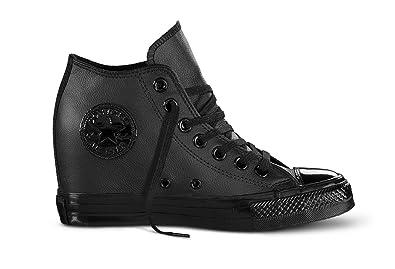 3336444c63c5c9 CONVERSE sneakers woman wedge internal 550668C CT MID LUX 35.5 Nero ...