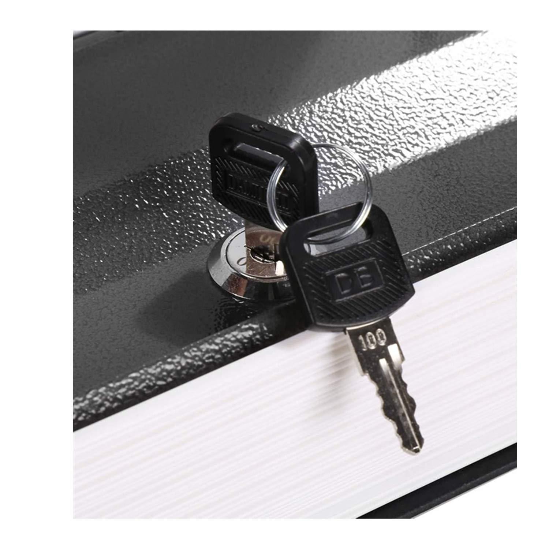 Juego de 2 llaves Caja fuerte de seguridad electr/ónica 2 llaves para caja fuerte de apertura de emergencia