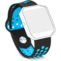 Hanlesi Fitbit Blaze Banda, Silica Gel Soft Silicone Adjustable Fashion Replacement Sport Strap Band for Fitbit Blaze Smartwatch Heart Rate Fitness Wristband