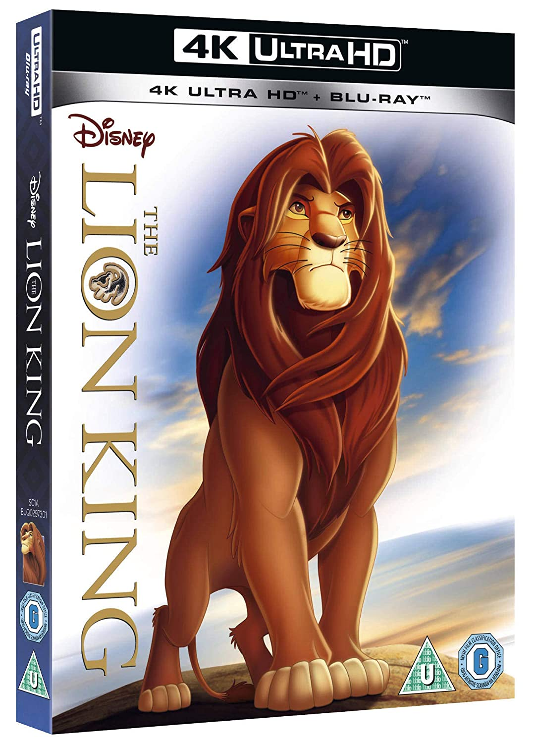 MOVIE - The Lion King - (1994) [4K 2160p UHD BluRay REMUX HDR HEVC