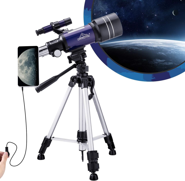 Teleskop Für Kinder Astronomie Anfänger 150 X Kamera