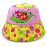 Melissa & Doug Sunny Patch Mollie and Bollie Ladybug Hat With Wide Brim Hat for Sun Protection
