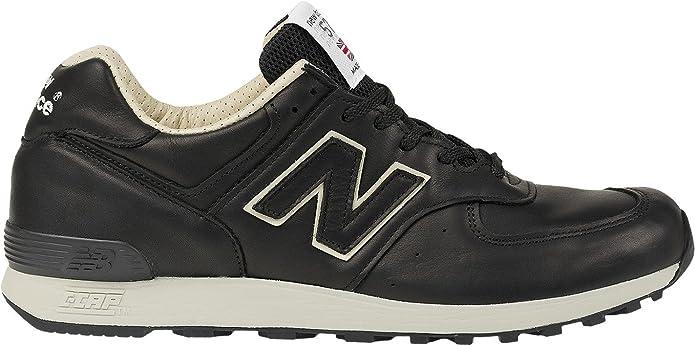 New Balance 576 Sneakers Herren Glattleder Schwarz