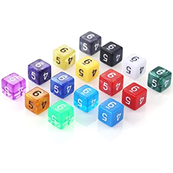 INTEY 18x7(126piezas) Dados Poliédricos Utilizados Con Bolsas En Juegos De Mesa Y Juegos De Rol Como Dungeons And Dragons DND RPG MTG