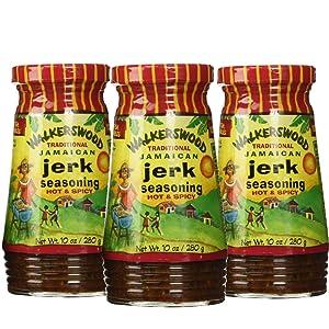 Walkerswood Jerk Seasoning (Hot) (Pack of 3)
