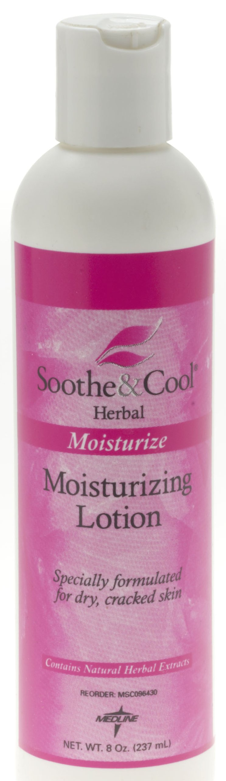 Medline MSC096435 Soothe & Cool Herbal Body Lotion, White (Case of 60)