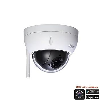 Cámara Wi-Fi IP PTZ Tecnología Dahua SD22404T-GN-W, potente zoom