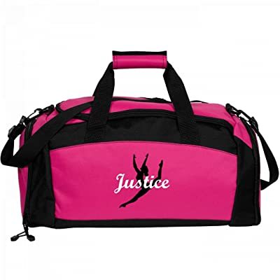 Girls Cute Ballet Dance Bag For Justice: Port & Company Gym Duffel Bag