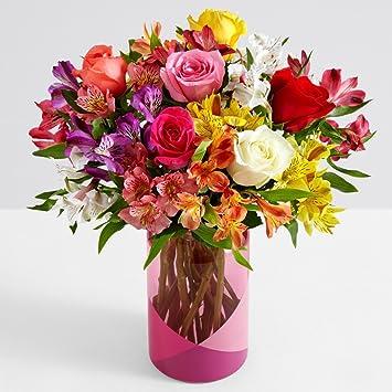 Amazon Proflowers 16 Count Multi Colored Smiles Sunshine W
