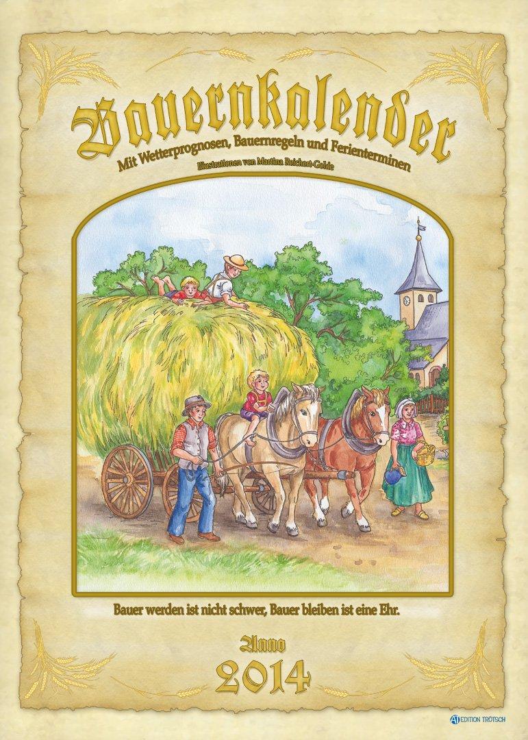 Bauernkalender 2014: Großbildkalender